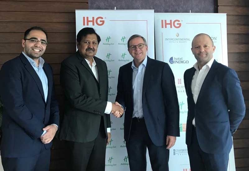 InterContinental Hotels Group has signed a management agreement to develop a new Holiday Inn hotel