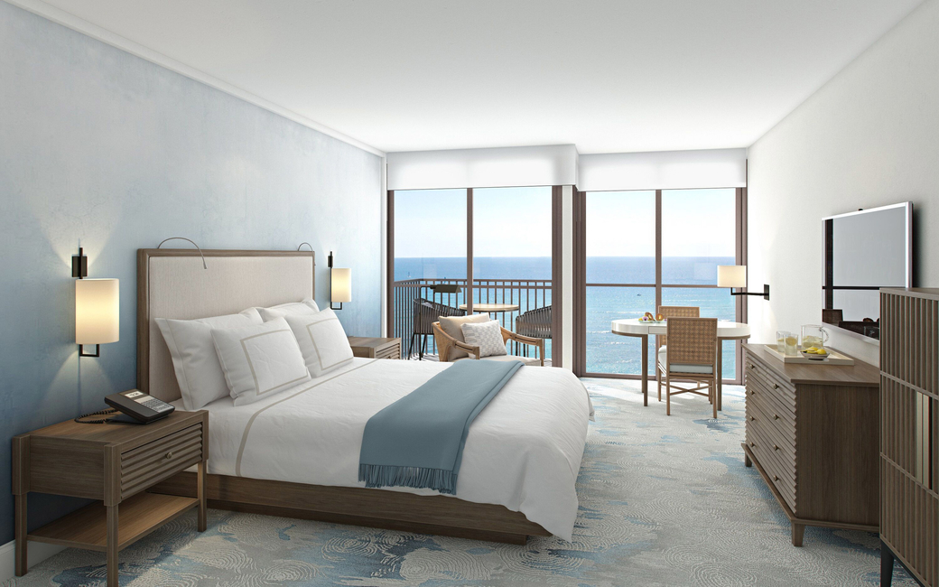 Located near Hawaii's Waikiki beach is the Halepuna Waikiki by Halekulani which will re-open to guests for stays beginning 25 October, 2019 with 288 revamped rooms