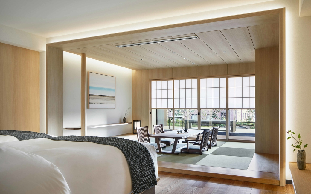 Located in Japan is The Thousand Kyoto which opened its doors in January 2019, presenting Zen-inspired designs in 222 appointed guestrooms, two open-kitchen restaurants and a café and bar