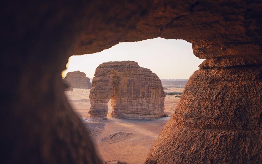 Elephant Rock in AlUla