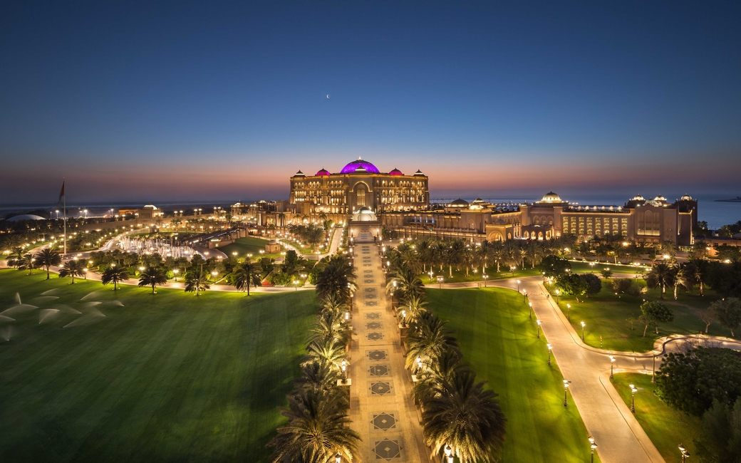 Summer discounts at Emirates Palace, Abu Dhabi.