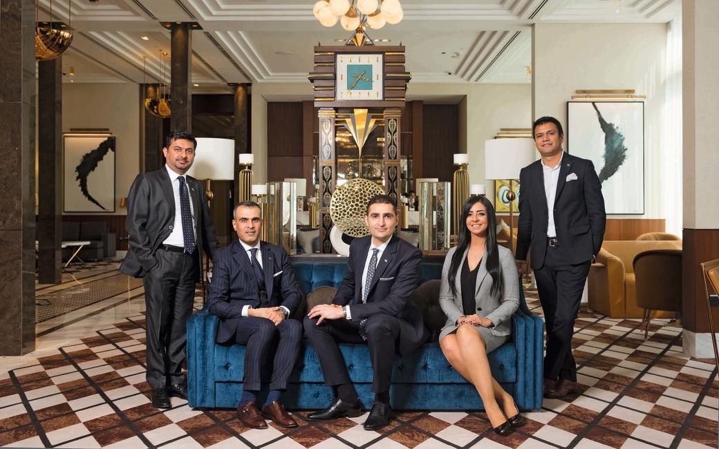 Waldorf Astoria DIFC team