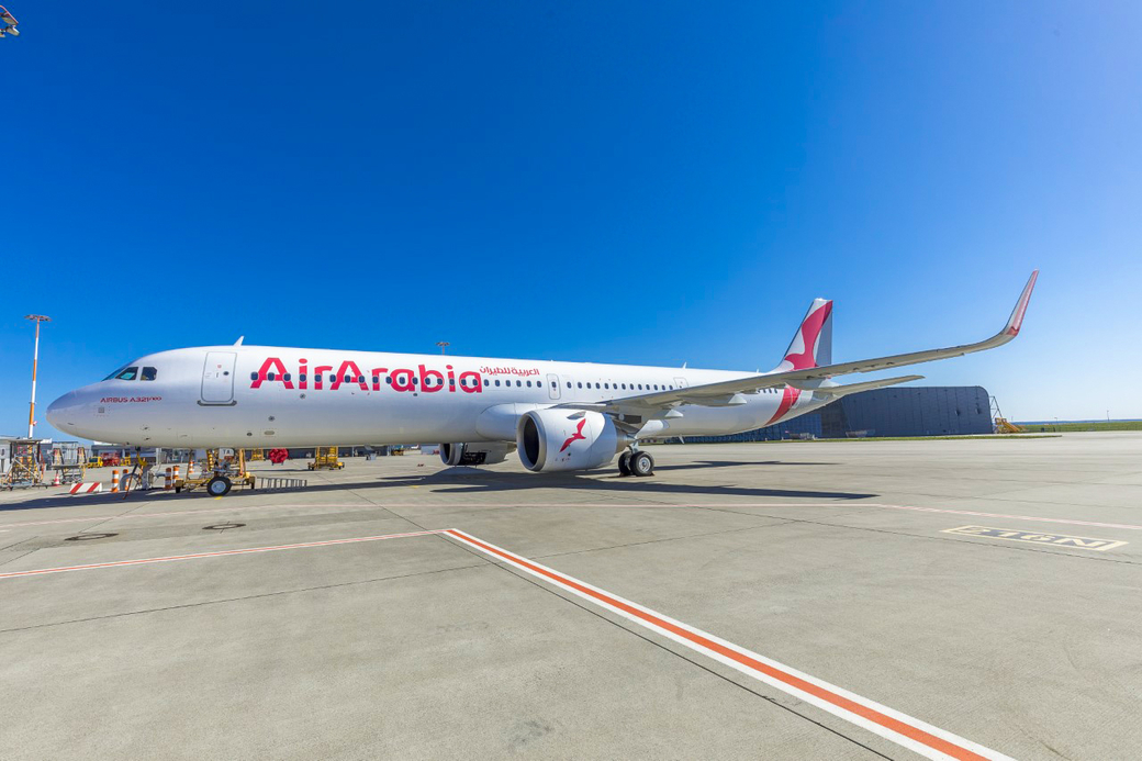 During the first half of 2019, Air Arabia received its first brand new Airbus A321 neo LR airplane.