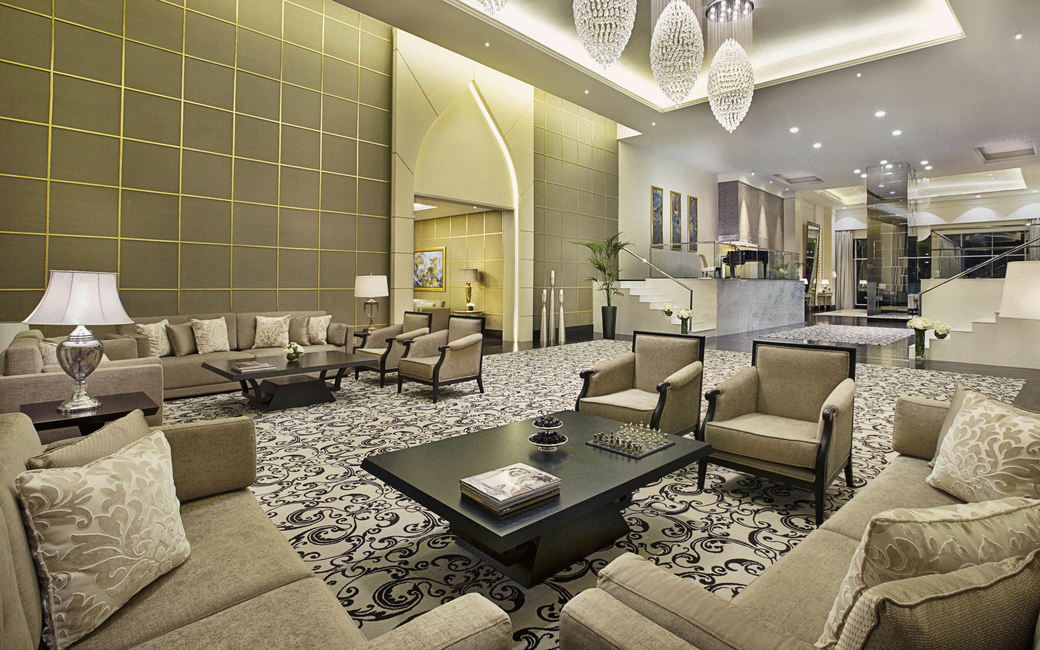 Suites feature the Chairman suite, King bedroom suite, Pearl Club suite and Royal suite