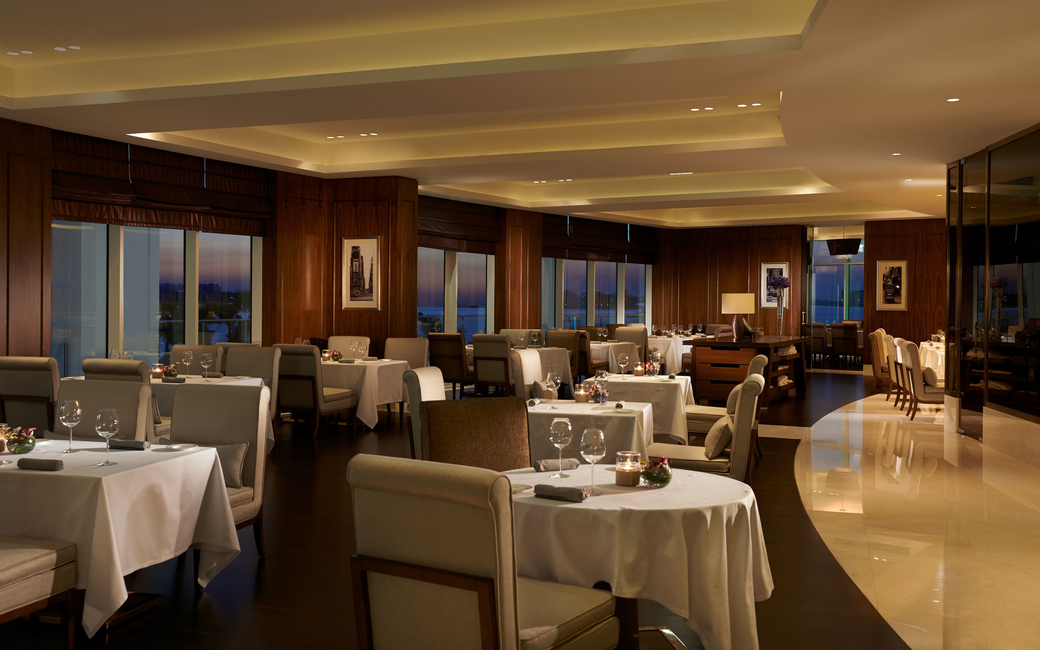 The six dining venues include Social by Heinz Beck, a restaurant that serves Italian dishes prepared by three-star Michelin chef Heinz Beck who is a master of modern gastronomy
