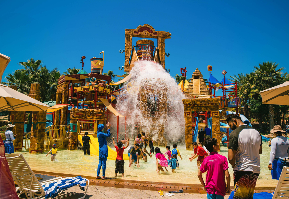 Aquaventure at Dubai's Atlantis The Palm