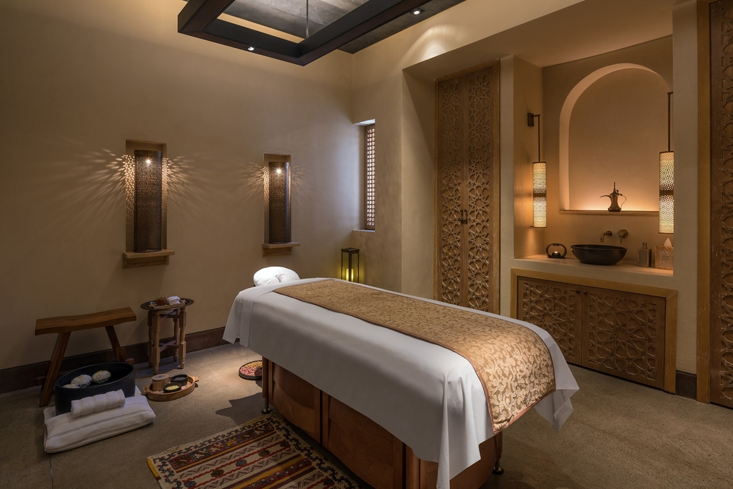 The female spa room at Al Bait Sharjah [2018 Pascal Reynaud / All rights reserved].