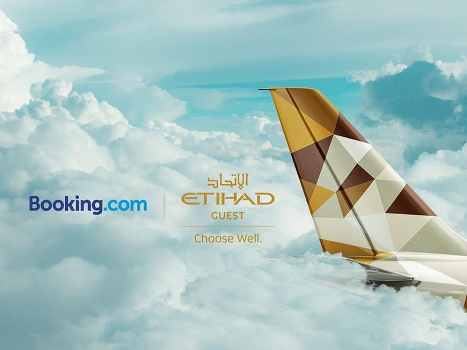 Etihad airways, Etihad Guest, Booking.com