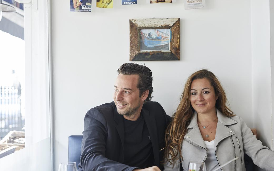 Christina and Adrien Mouratoglou