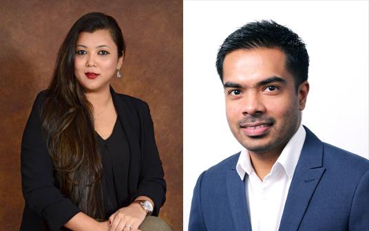 Simmi Satyeash Pai and Anjelo Perera