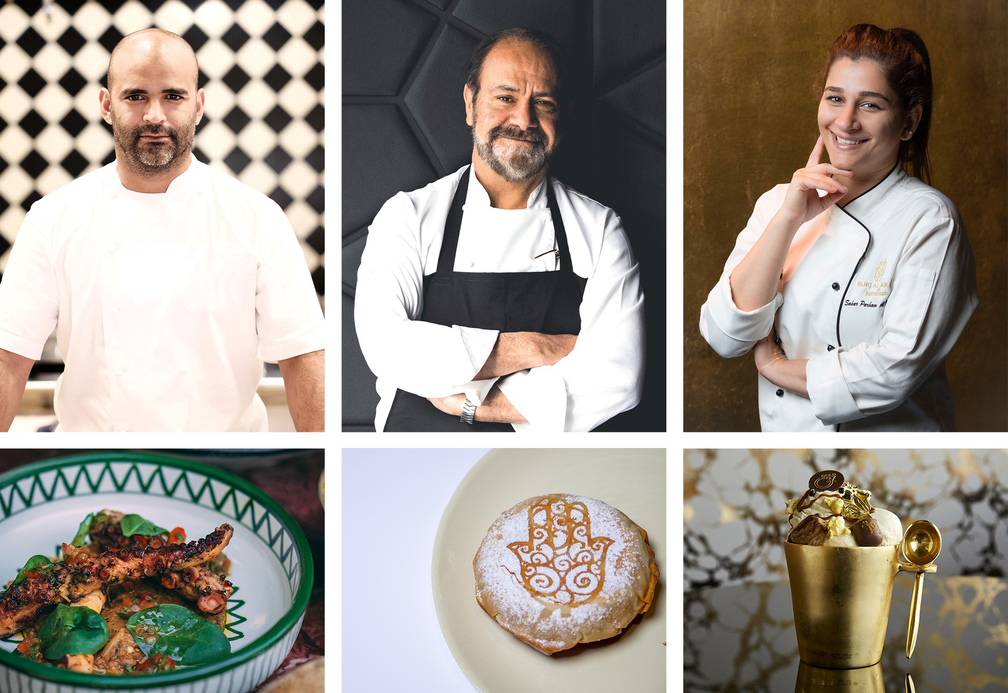 The latest ThreeChefsDinner will have a modern Middle Eastern theme