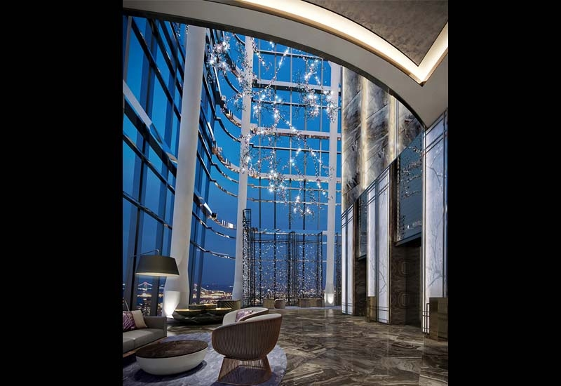 The hotel that is located in the capital of the Guangxi Province, marks the brand's eighth property in China