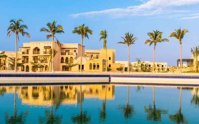In June alone, the total occupancy rate in hotels rose to 37.6% from last year's 36.1%. Image courtesy Oman Tourism
