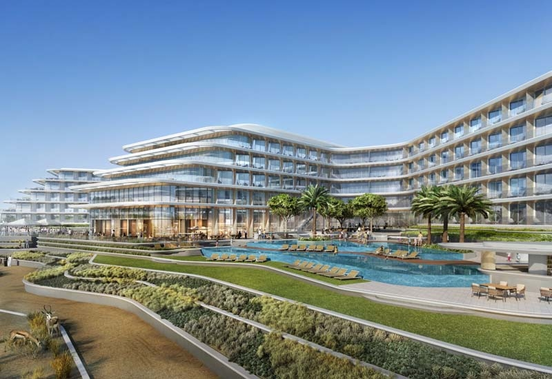 The property also offers five meeting rooms and is set along 800-metres of private beach