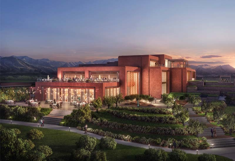 The St. Regis Resort Hotel will comprise 60 guest rooms and 20 villas