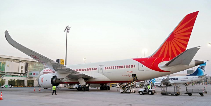 Air India has the largest share of international flying rights and seat capacities among Indian carriers