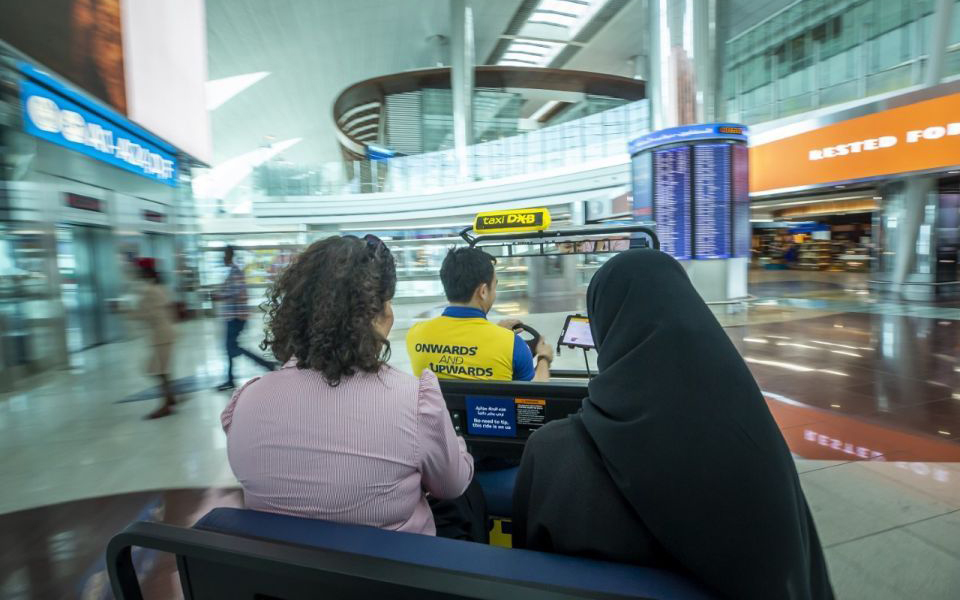 Now you can catch a taxi inside Dubai's DXB