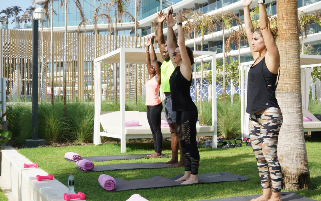 W Dubai launches fitness passes