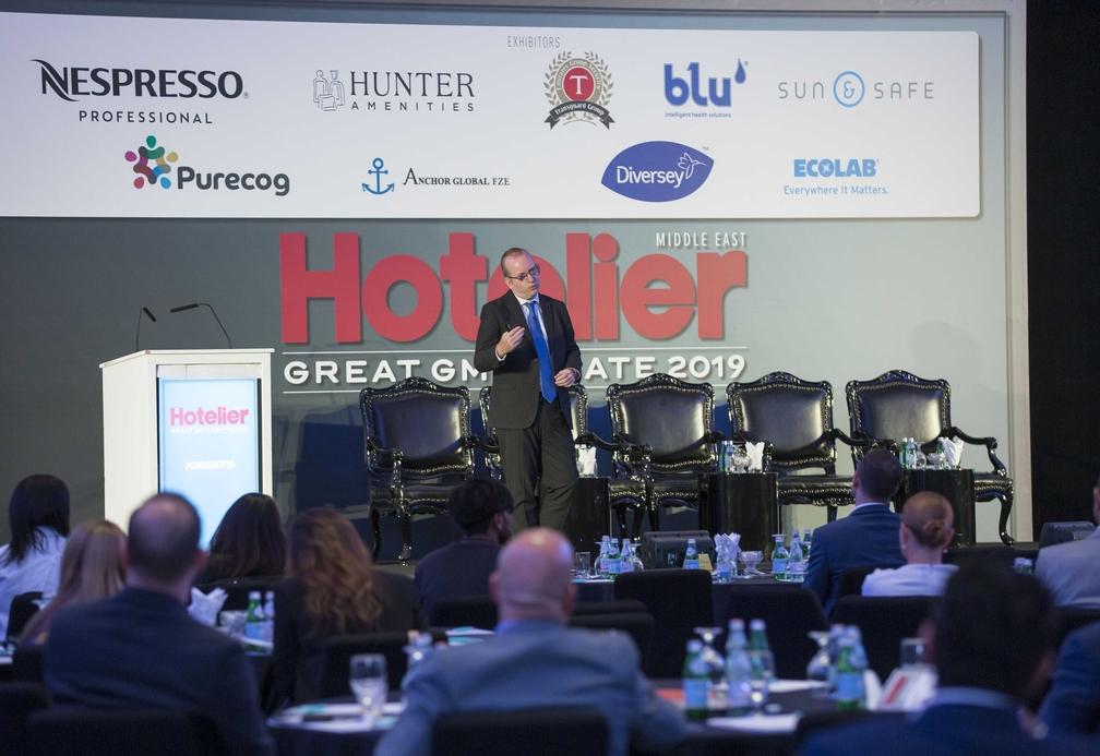 Steve Dering speaks at the Great GM Debate