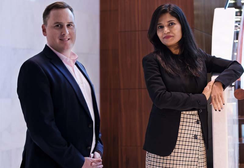 Scott Catling and Astuti Singh