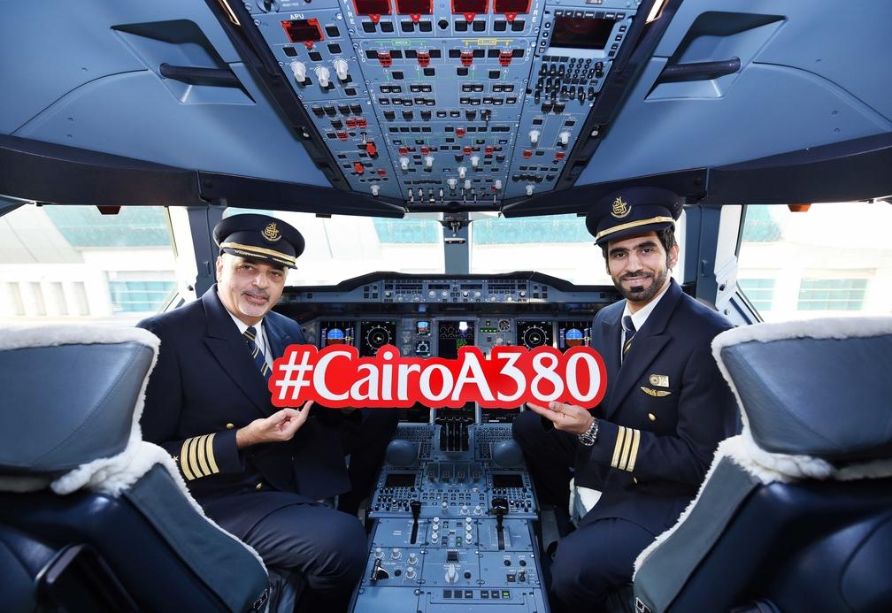 Captain Hesham Essawy and first officer Abdullah Alyammahi
