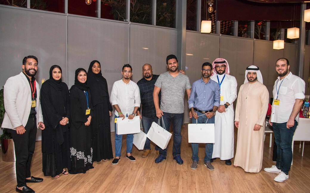 The trip, centered around a city-wide treasure hunt, was held in partnership with Etihad Airways and Yas Island