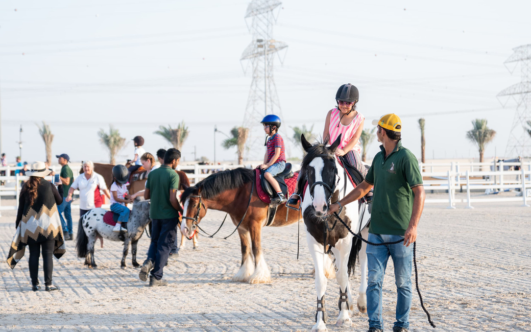The club will be holding show jumping competitions scheduled to run monthly starting in October 2019