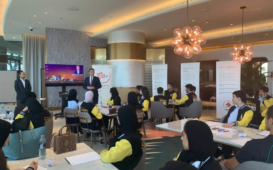 As part of its True Hospitality for Good programme, IHG is partnering with Junior Achievement Worldwide to support the young entering the sector