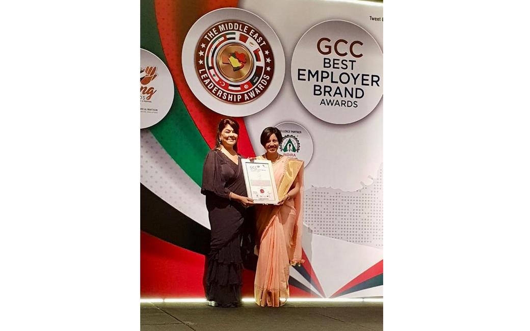 Taj Dubai takes home honours at the GCC Best Employer Brand Awards