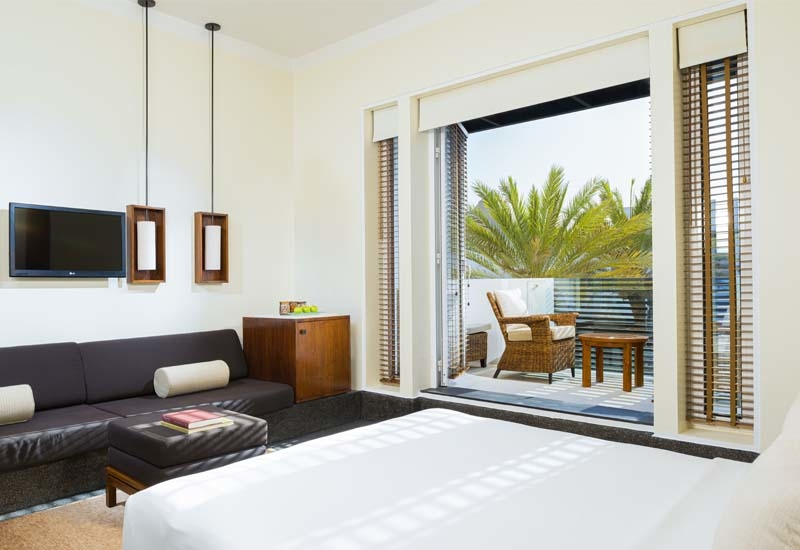 Eight of the hotel's Serai rooms now feature private, outdoor accommodation