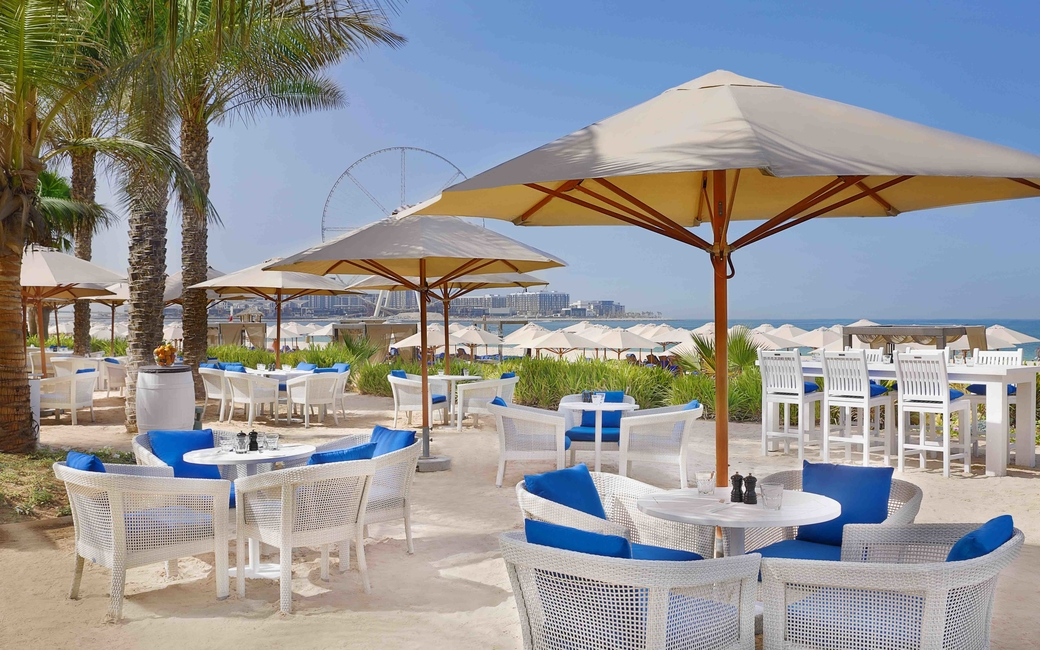 The 'Chill & Grill' weekly brunch package is inclusive of beach and pool access to the resort's five pools