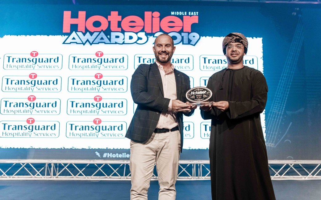 Mukhtar Al Maskari from Al Bustan Palace, Oman walked away with the 2019 Safety & Security Person of the Year award