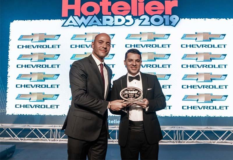 Cristiano Moulin from The Ritz-Carlton Ras Al Khaimah won the Marketing & PR Person of the Year