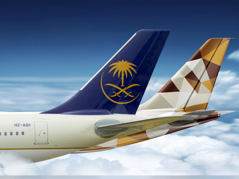 Etihad Airways and Saudia marked the first anniversary of their commercial partnership by announcing 12 new codeshare routes to key destinations in Asia and Europe