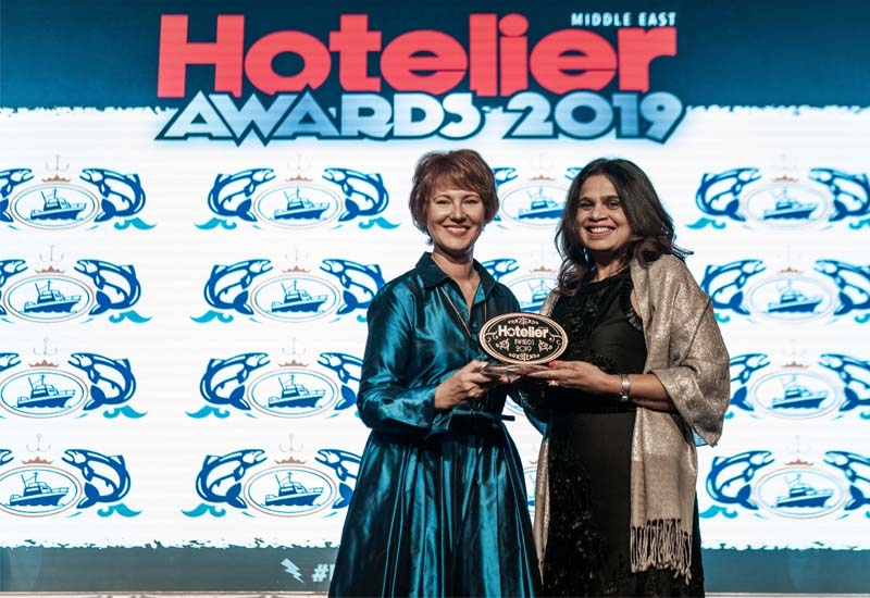 Anita Julie Lobo from Crowne Plaza and Holiday Inn Kuwait won the IT Person of the Year award