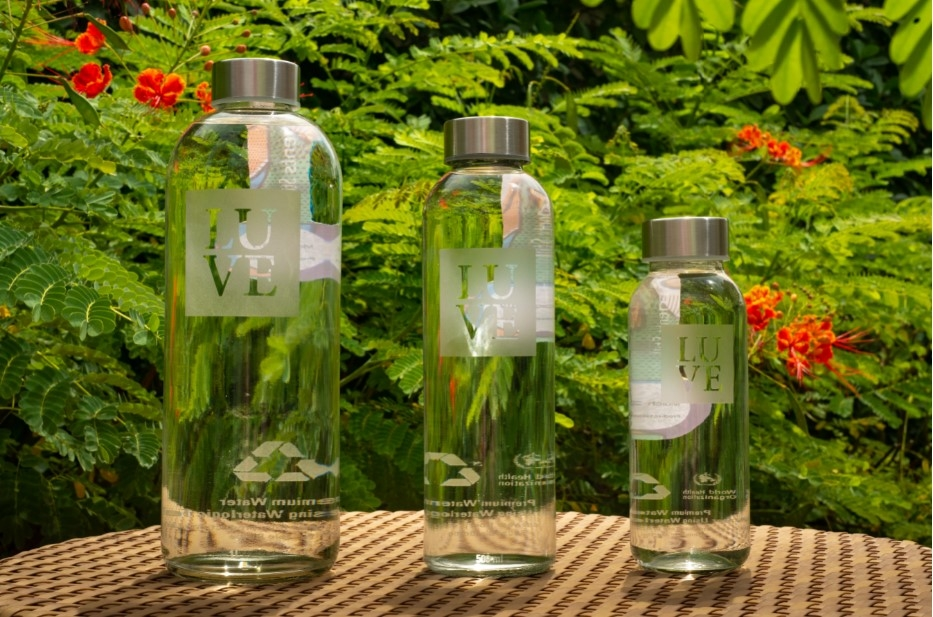 Reduction of waste of over 270,000 plastic bottles has been achieved since the hotel launched the pet plastic bottle free initiative in March 2019