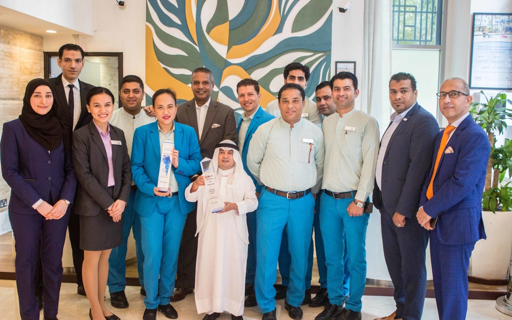 This is the second time that Ramada by Wyndham Downtown Dubai has won the award