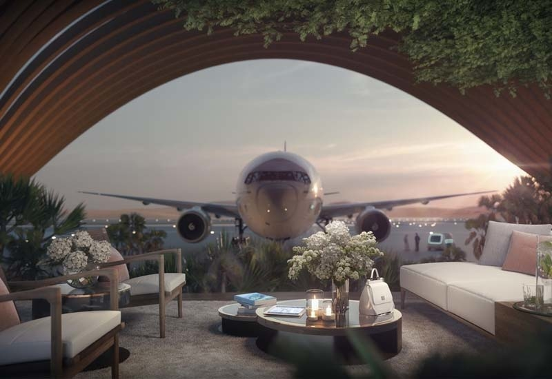 The airport that is due for completion in 2022, will serve an estimated one million tourists per year with a schedule of domestic and international flights