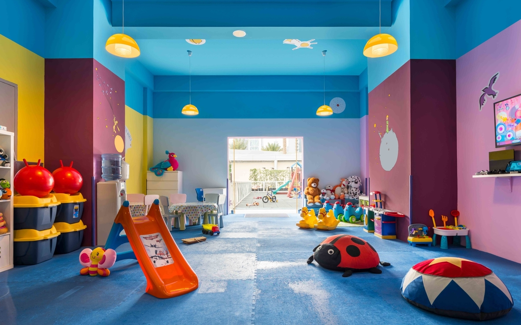 The Le Petit Prince kids' club is an engaging space for children with storybooks, toys and games