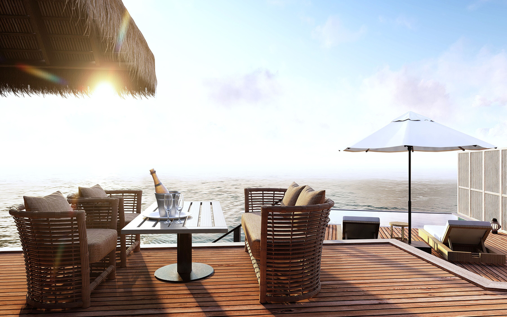 The resort will introduce five new room types including the two-bedroom Deluxe beach villa