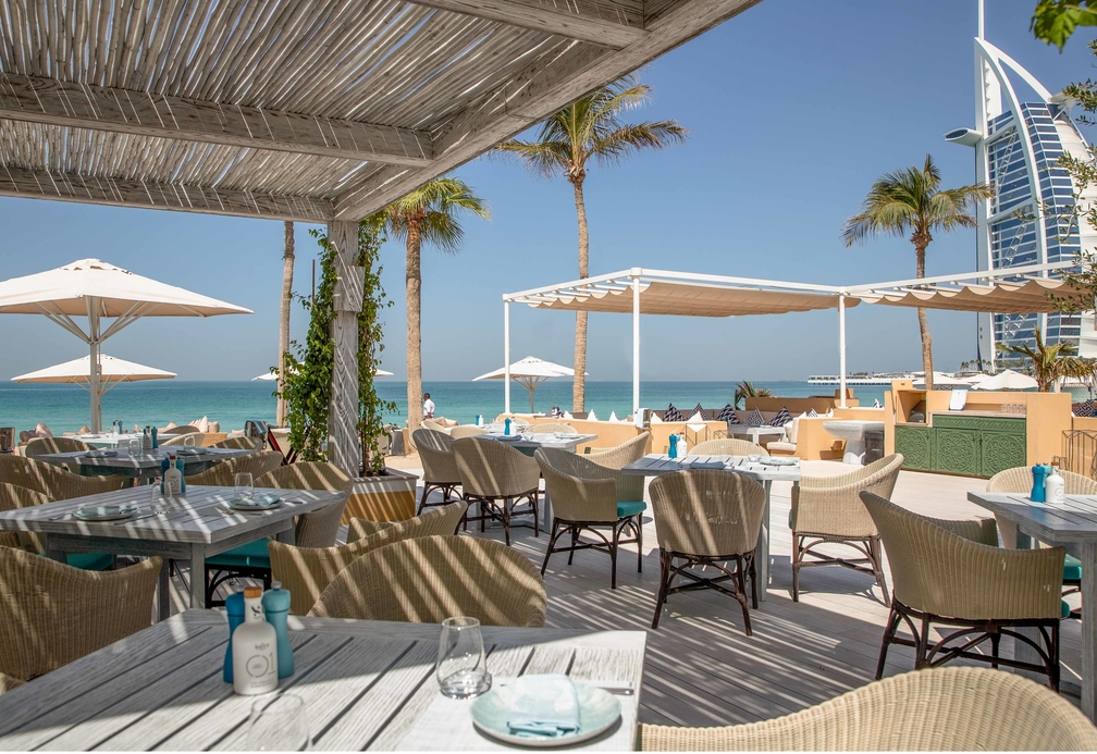 Shimmers and two other Jumeirah Group restaurants have reopened