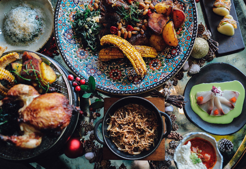 Running from December 24 – 26, the Abu Dhabi eatery will serve a festive menu incorporating its Peruvian roots, as well as influences from Japanese, Chinese and Spanish cultures