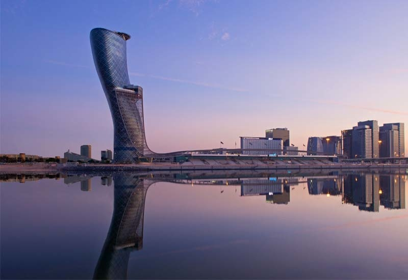 omparable system-wide RevPAR was flat, including a decrease of 0.1% at comparable owned and leased hotels. Image: Andaz Capital Gate Abu Dhabi