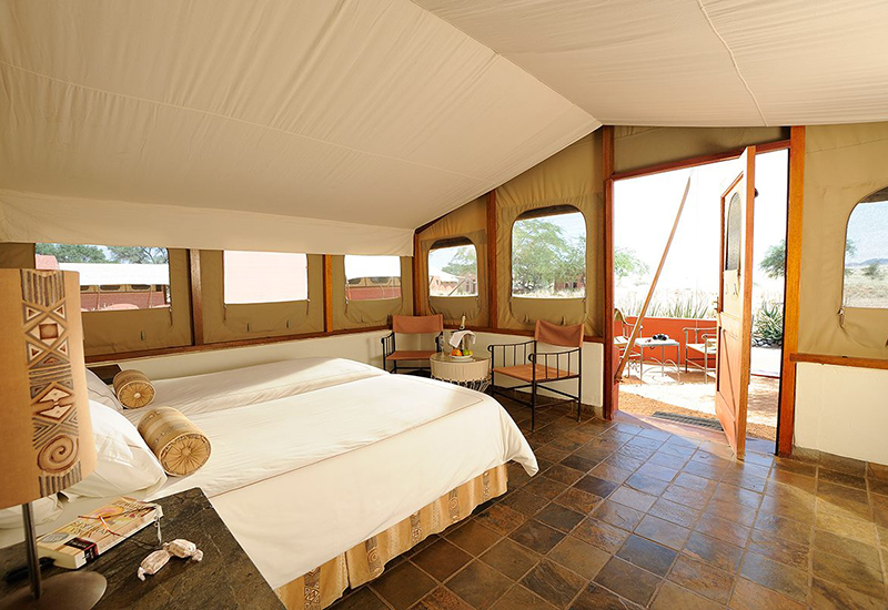 The results were used to identify the most impactful friction reduction methods for travel sites. Image: Sossusvlei Lodge via Expedia's FB page