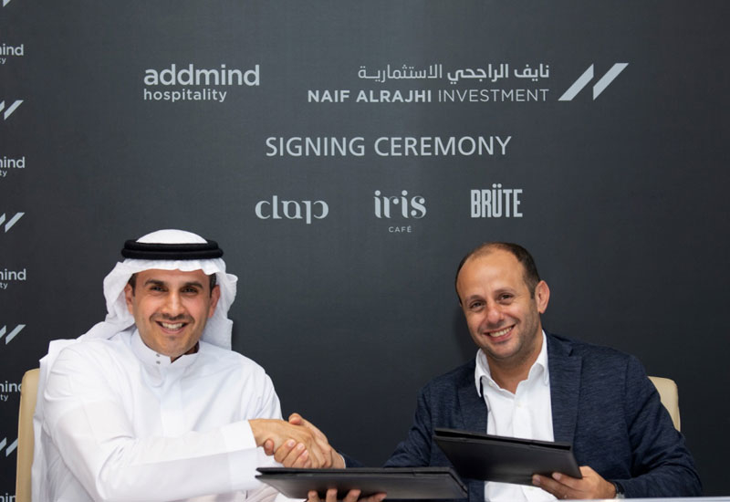 Naif Alrajhi Investment has signed a collaboration agreement with Addmind Hospitality