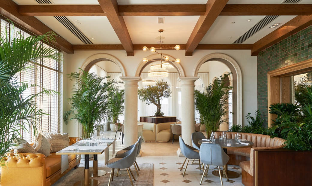 Nassau, due to open on November 27, draws on Rowe's eclectic European-Arabian heritage