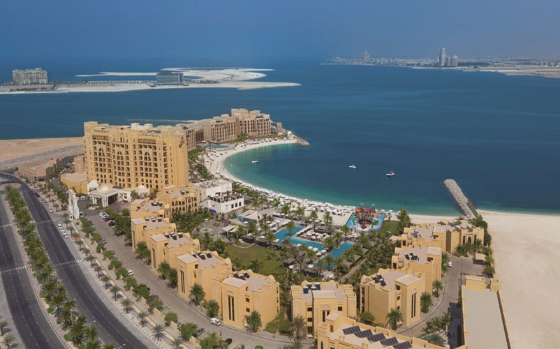 The 723 rooms and suites hotel provides access to seven pools, two spas, and 13 F&B venues