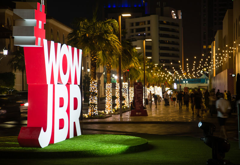 Activities on The Walk at JBR are promised to be family-friendly and free of charge