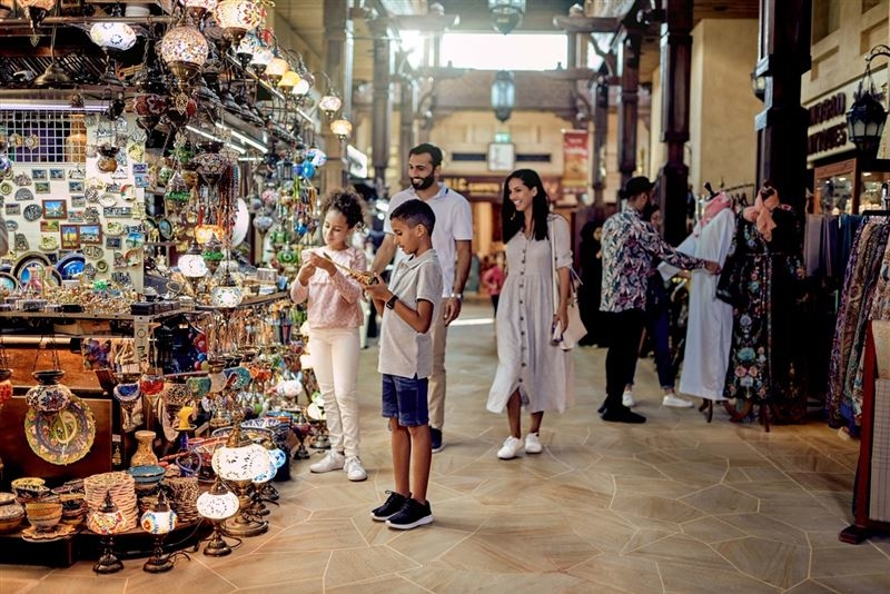 In September alone, the emirate recorded 1.23 million visitors in the city
