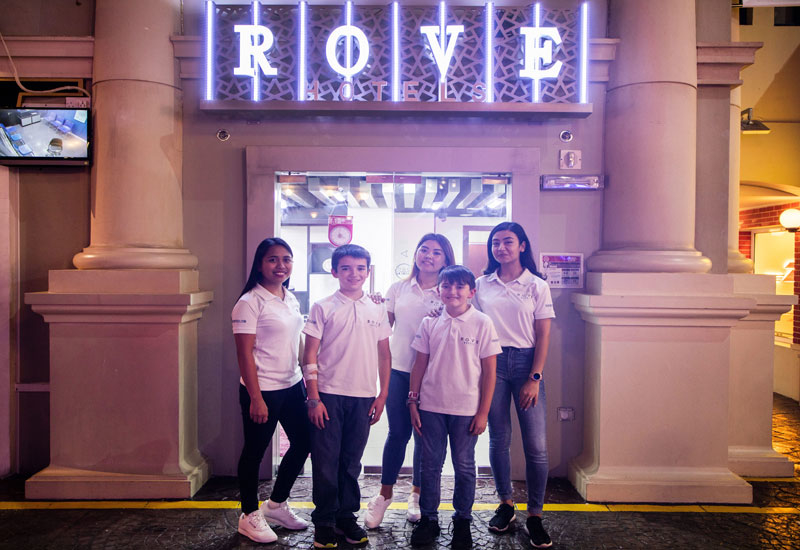 Mini-Rove hotels have been rolled out in KidZania amusement centres
